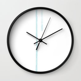 Cold Stare Wall Clock