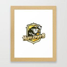 Hogwarts Quidditch Teams - Hufflepuff Framed Art Print