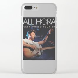 NIALL HORAN FICKER TOUR WORLD 2018 { 1 } Clear iPhone Case
