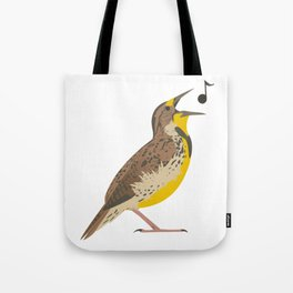 Meadowlark! Tote Bag