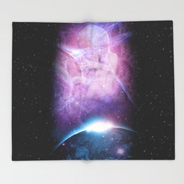 Earth Angels Throw Blanket
