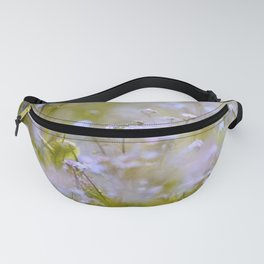 Forget-me-nots On a Windy Day #decor #society6 Fanny Pack