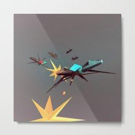 Attack! Metal Print