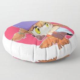 Mako - autumn Floor Pillow