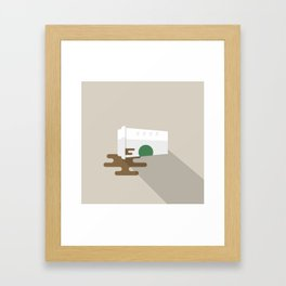 That Kind of Day... Framed Art Print