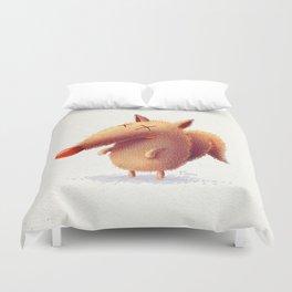 Monday fox Duvet Cover