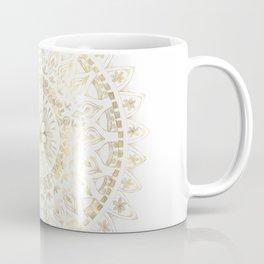 Gold Hand Drawn Mandala Coffee Mug