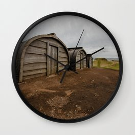 Lindisfarne Offices Wall Clock