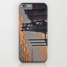 All architecture is shelter....... Philip Johnson Quote Slim Case iPhone 6s