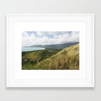 hawaii Framed Art Prints featuring Hawaii by Kakel-photography