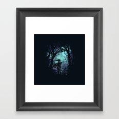 zelda hero Framed Art Print