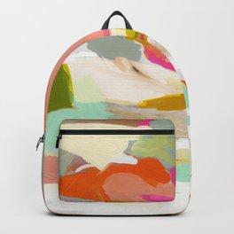 landscape in winter mood Backpack