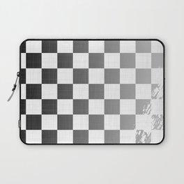 Chequered Flag Grunge Laptop Sleeve