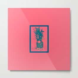 Pineapple Express Metal Print