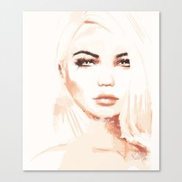 Tone Canvas Print