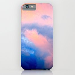Heavy Cumulus Clouds At Sunset iPhone Case