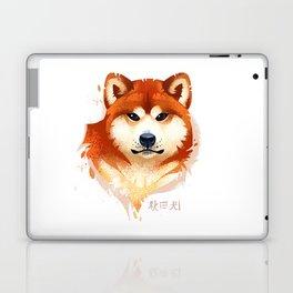 Akita Stylistic Portrait Laptop & iPad Skin
