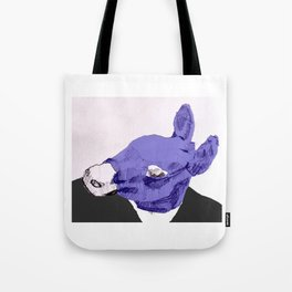 Blue Donkey Tote Bag