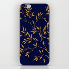 Blue branches iPhone & iPod Skin