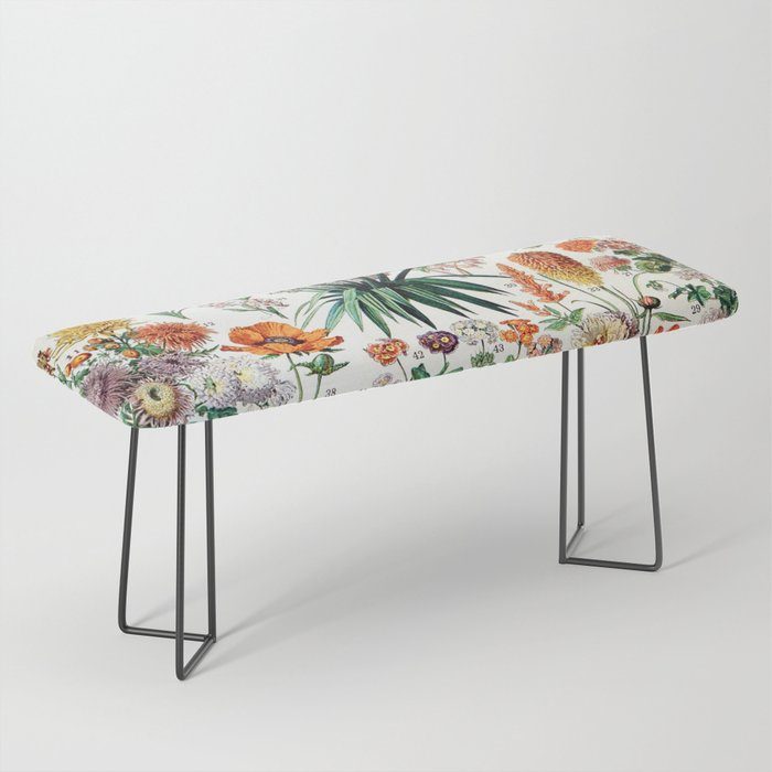 Adolphe Millot - Fleurs B - French vintage poster Bench