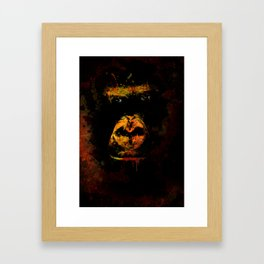 Mighty Gorilla Framed Art Print