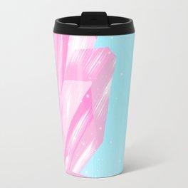 Sparkly Pinky Crystals Design Travel Mug