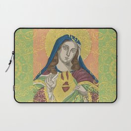 Virgin Mary Laptop Sleeve