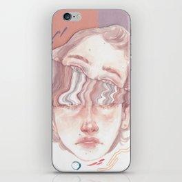 wiggly gentlemen iPhone Skin