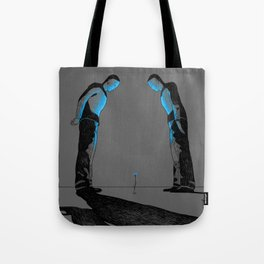 All things of value are  defenseless (Lucebert) Tote Bag