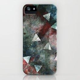 Dark Triangles iPhone Case