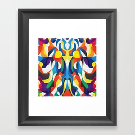 Same Different Thing Framed Art Print