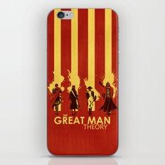 The Great Man Theory iPhone & iPod Skin