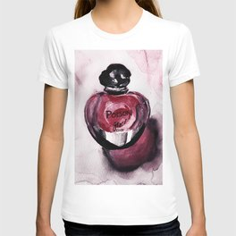 Poison Girl - Perfume - Fashion Illustration T-shirt
