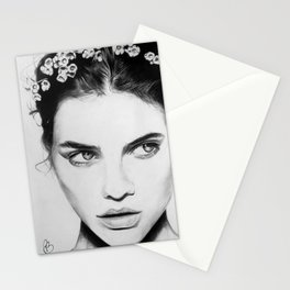 Barbara Palvin Portrait Stationery Cards