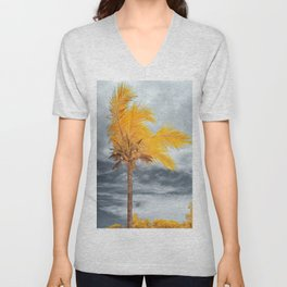 Coconut Tree Unisex V-Neck