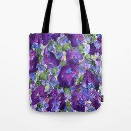 Lilacs Abstract Tote Bag