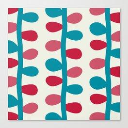 Like a Leaf [colours] Canvas Print