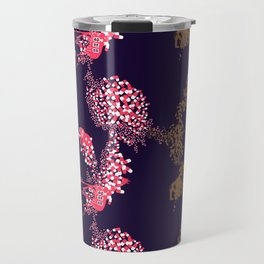Animals & Pills by Yutaka Sho Travel Mug
