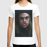 brad pitt T-shirts featuring Brad Pitt - 12 Monkeys - Monkey Wrench by Saint Genesis