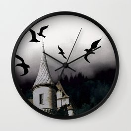 The house of Nevermore Wall Clock