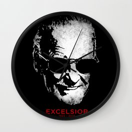 Excelsior! Wall Clock