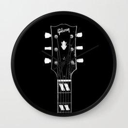 Vintage 1950 Gibson ES-300 - Acoustic Guitar - Headstock-Vintage-Rock Music - Blues Wall Clock