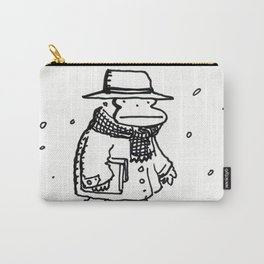 Bundled Ape Returns Books in the Snow Carry-All Pouch