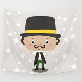 A baby magician Wall Tapestry