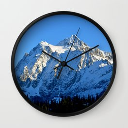 Mount Shuksan - Another View Wall Clock