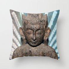 Buddha Photograph Throw Pillow