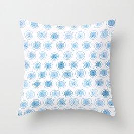 #33. ALEXANDRA - abc Throw Pillow