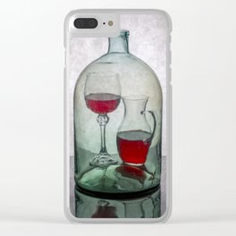 Internal contents Clear iPhone Case