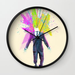 Shock to the system Wall Clock