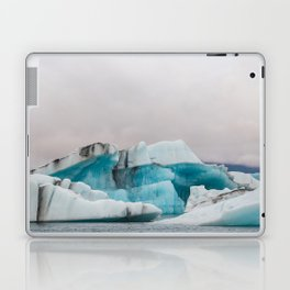 Iceberg in the glacial lagoon in Iceland - landscape photography Laptop & iPad Skin